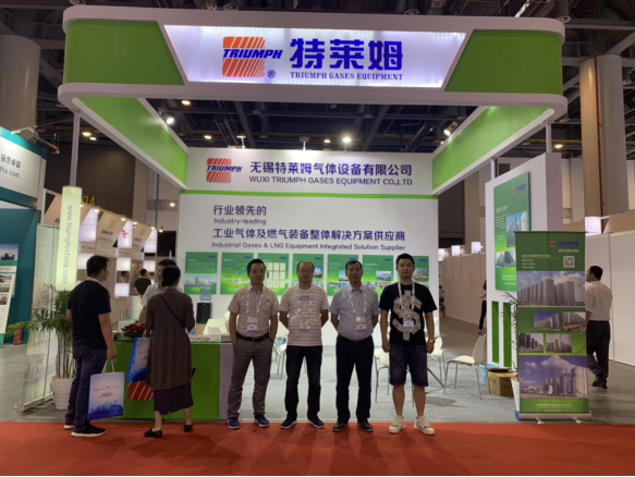 Triumph attended 2019 IG China exhibition in Hangzhou.
